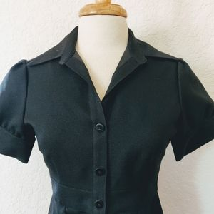 Calvin Klein size 4 button down fitted dress